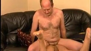 Young guy fucked by hot daddy