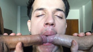 Straight Amateur Latino Returns For More Money And Gay Cock
