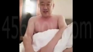 Cute Chinese daddy on webcam