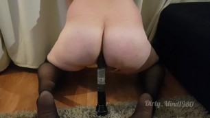 Fucking a big maglite